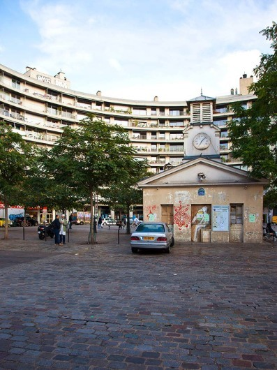 Marché Beauvau, Paris, France