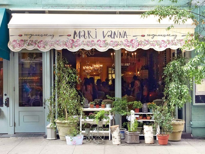Mari Vanna41 East 20th StreetNew York, NY 10003