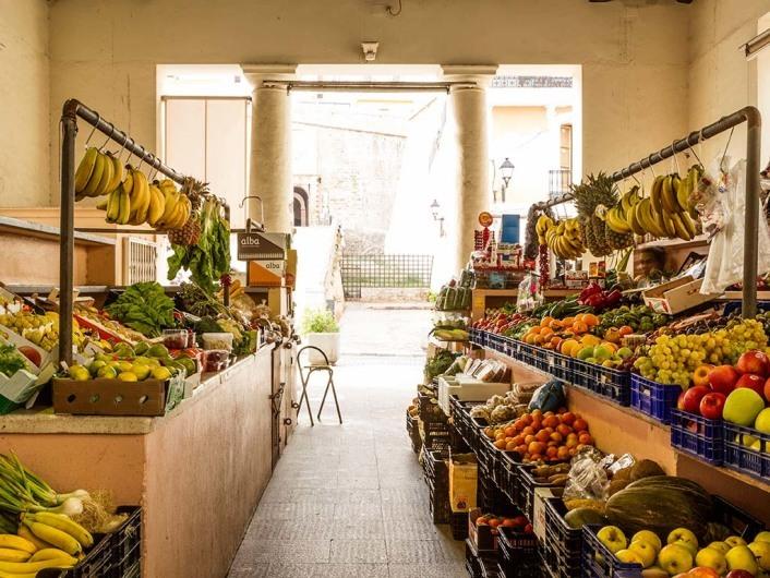 El Mercado Viejo, Eivissa, Ibiza, Spain