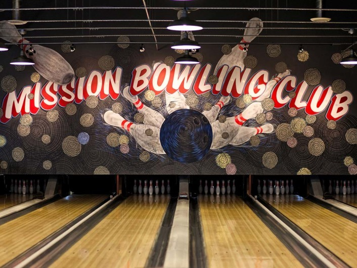 Mission Bowling Club, San Francisco, California, United States