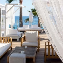 Mood Beach & Restaurant, Bar, Lounge, Costa d´en Blanes, Mallorca, Spain
