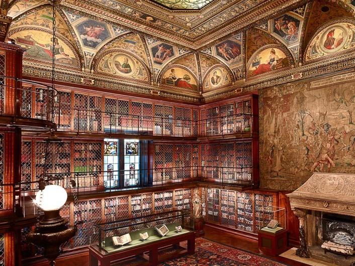 The Morgan Library, New York City, New York, USA