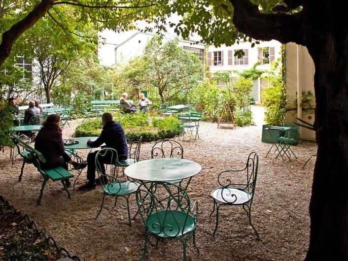 Museé de la vie romantique in Paris, France