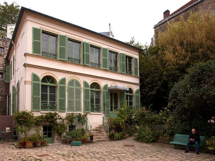 Museé de la vie romantique in Paris, France