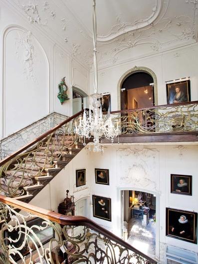 Stiegenhaus, Museum van Loon. Keizersgracht