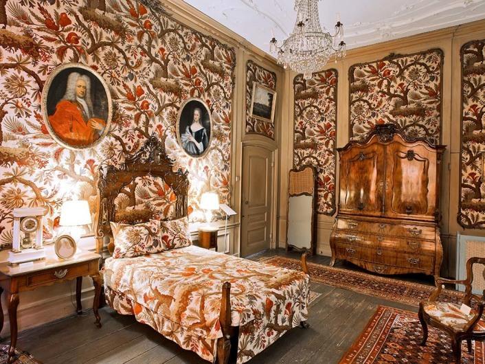 Schlafzimmer, Museum van Loon. Keizersgracht