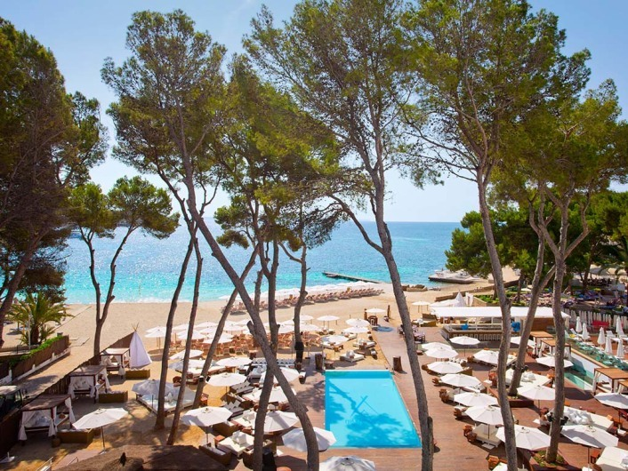 Nikki Beach, Magaluf, Mallorca, Spain