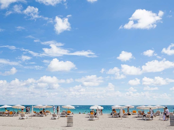 Nikki Beach, Miami, South Beach, Florida, USA