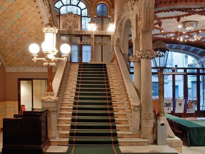 Palacio de la Musica Catalanawww.palaumusica.org