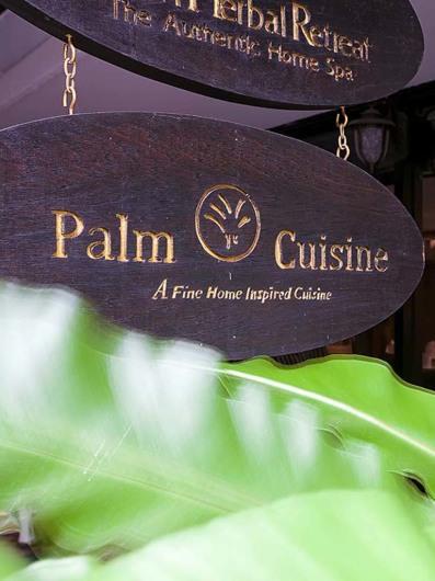 Palm Cuisine, Bangkok, Thailand