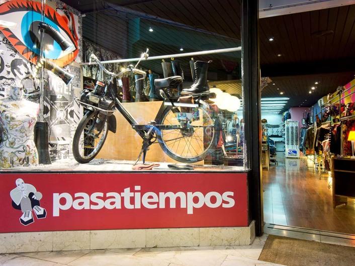 Pasatiempos, shop, Palma, Mallorca, spain