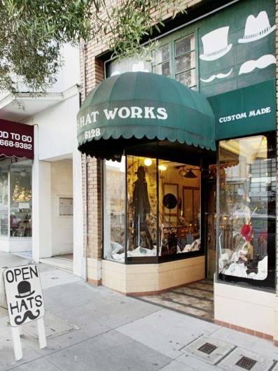 Pauls Hat Works, San Francisco, California, USA