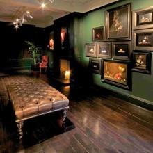 Installation shot of Stilleven group exhibition, artists, Simon Ward and Alexander James