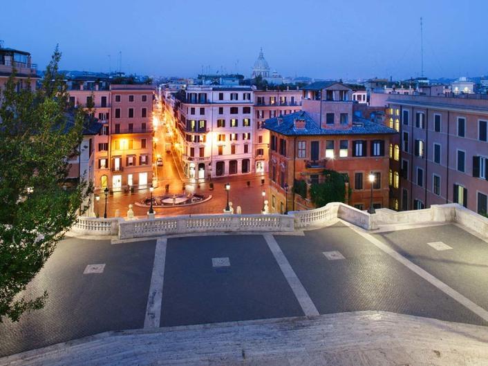 Piazza Spagna - Spanische Treppe (Rom)