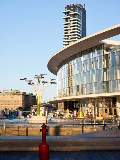 The new center of Modern in Milan