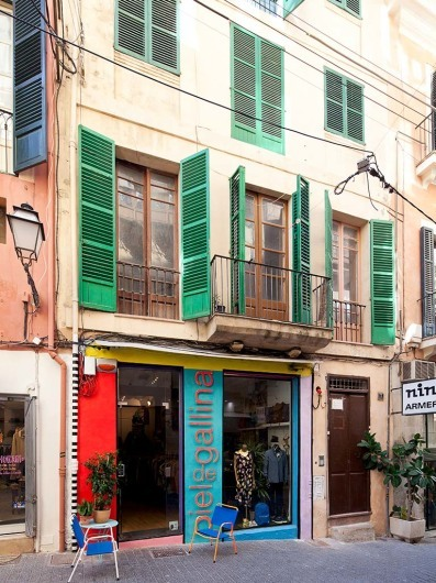 Piel de Gallina, shop, Palma, Mallorca, Spain