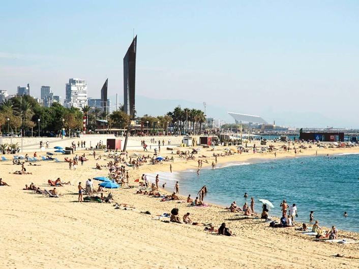 Playas and Promenade/Nova Icariahttp://www.bcn.cat/platges/en/platges_localitzacio_barceloneta.html