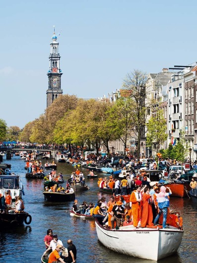 Königinnen-Tag, 30. April 2009, Prinsengracht
