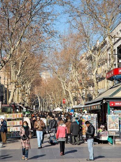Rambles- Barcelonahttp://w3.bcn.cat/turisme/0,4022,495525130_783946798_1,00.html