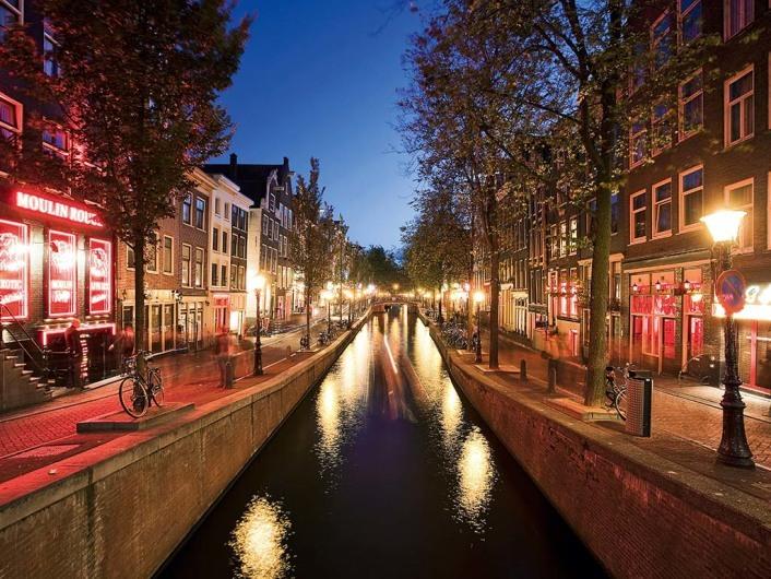Red Light Distrik (Wallen), die sündige Meile Amsterdams