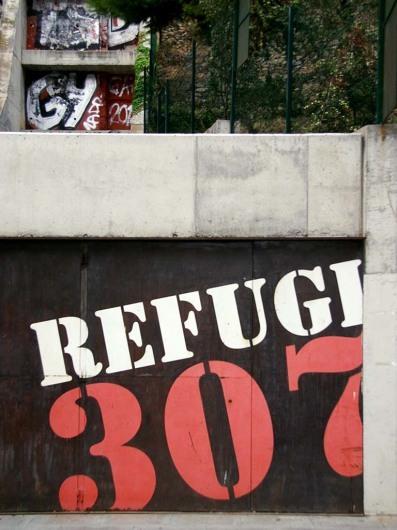 Refugi 307; Barcelona; Spain