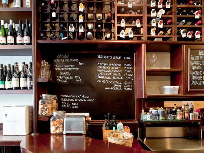 Remigio winebar, Rome, Italy