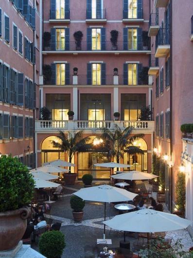 Hotel de Russie + Stravinskij-Bar (rom)www.hotelderussie.it