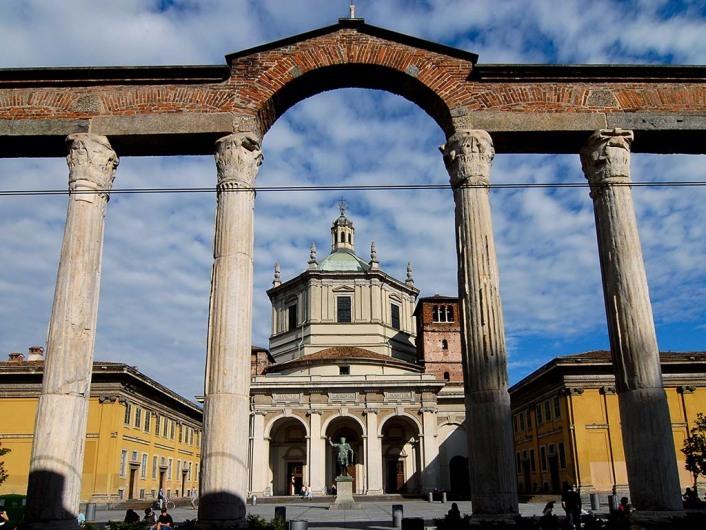 San Lorenzo Maggiore, Milan, Italy