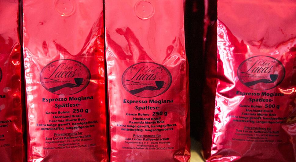 San Lucas Kaffeewirtschaft