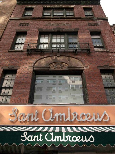 Sant Ambroeus, Upper Eastside, New York, USA