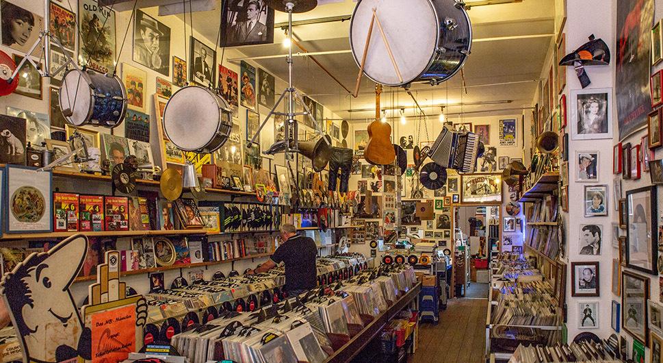 Schallplatten Antiquariat