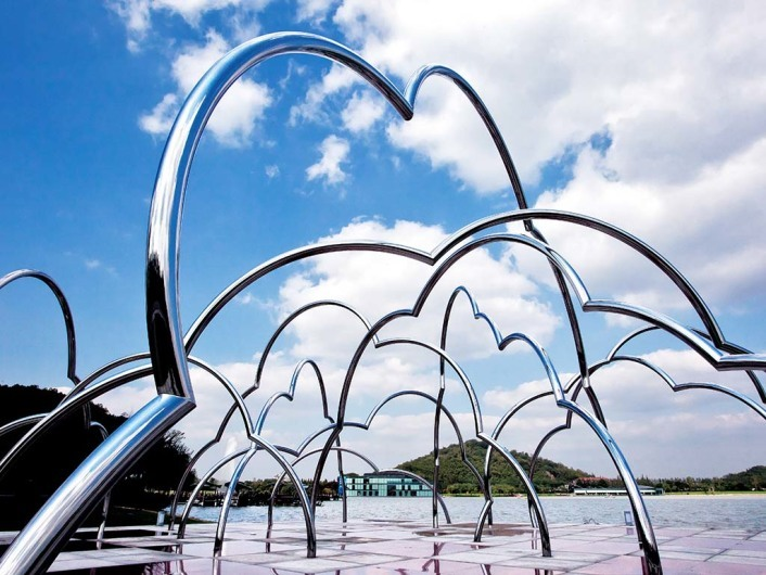 Shanghai Sculpture Park 上海月湖雕塑公园