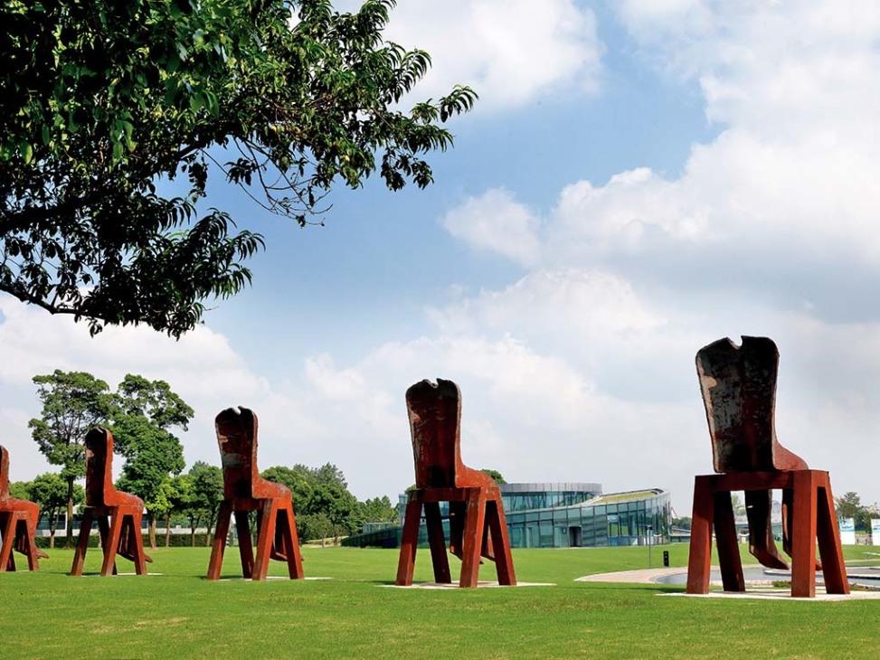 Cool cities shanghai sculpture park