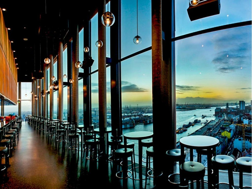 Skybar 20up for Coole hotels hamburg