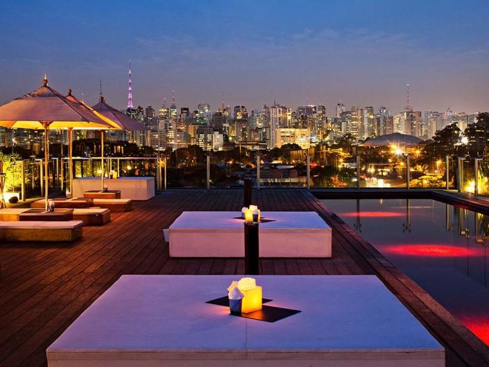 Skye Bar, São Paulo, Brazil