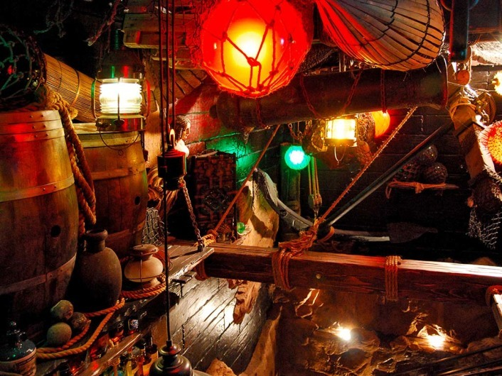 Smugglers Cove, San Francisco, California, United States