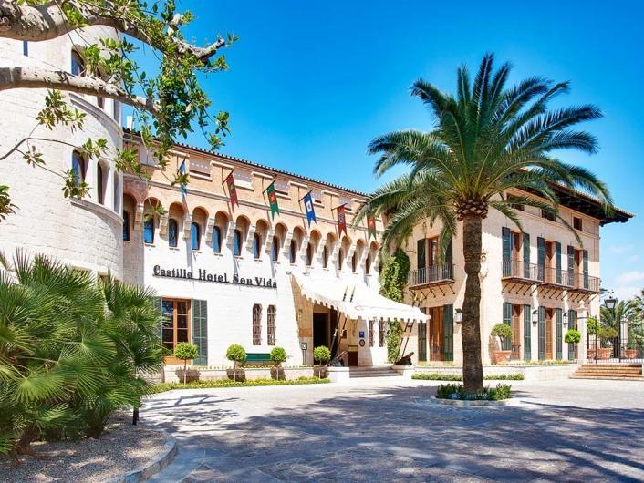 Castillo Son Vida, Son Vida, Mallorca, Spain