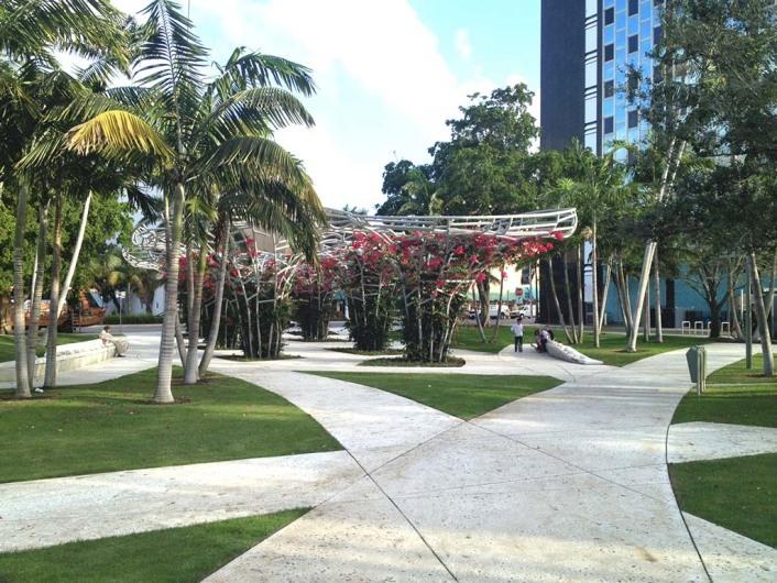 Soundscape, Miami Beach, Miami, Florida, USA