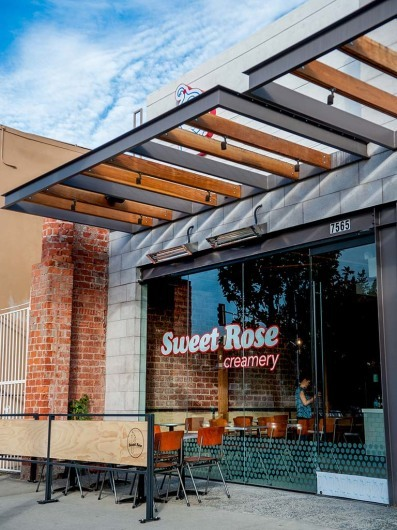 Sweet Rose Creamery - New Beverly Location
