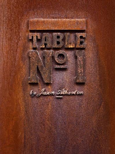 Table No. 1 外滩第一台概念餐厅