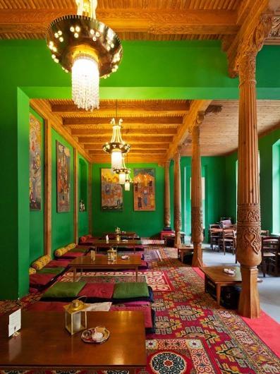 Tadshikische Teestube
