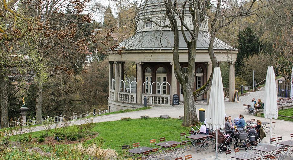 Teehaus im Weissenburgpark