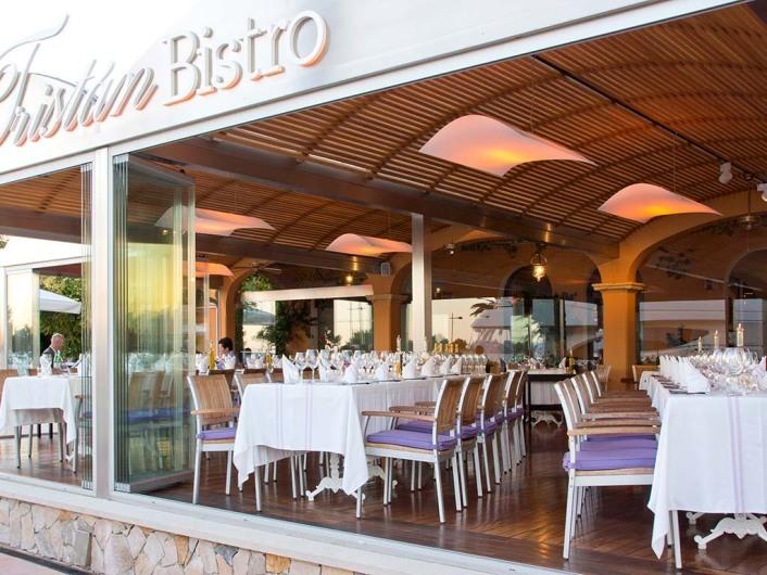Tristan Bistro, Puerto Portals, Mallorca, Spain
