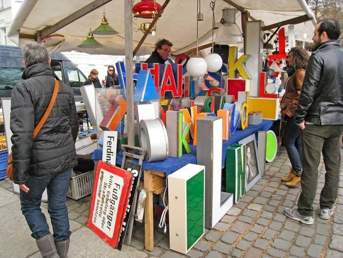 Trödelmarkt am Arkonaplatz