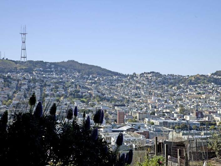 Twin Peaks,San Francisco, California, USA