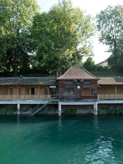 Schwimmbad Unterer Letten, Zurich, Switzerland