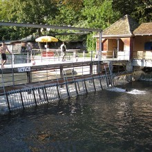 Flussbad Unterer Letten, Zurich, Switzerland