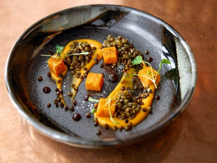 Sweet Potato and Put Lentil 'Dhal'