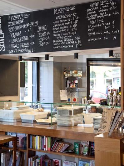 Via Settembrini books & café, Rome, Italy