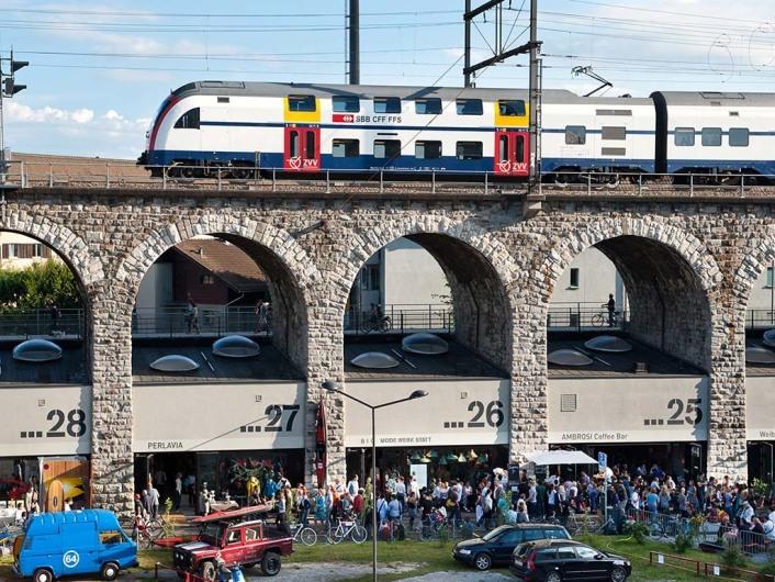 Viadukt, Zurich, Switzerland